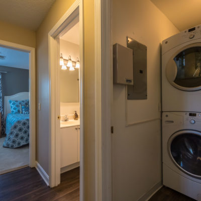 Brand new washer and dryers with updated bathroom features and Windshire Terrace