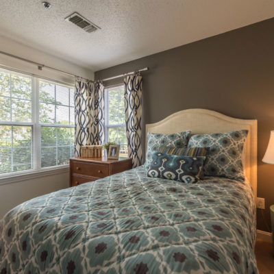 A middletown apartment bedroom at Windshire Terrace apartments