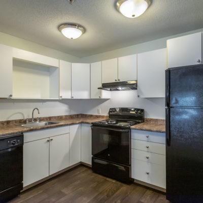 Updated apartment appliances at Windshire Terrace apartments in Middletown